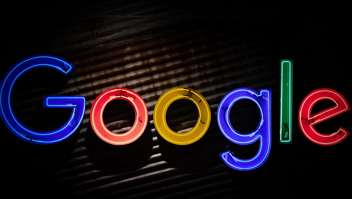 Google.cz logo.