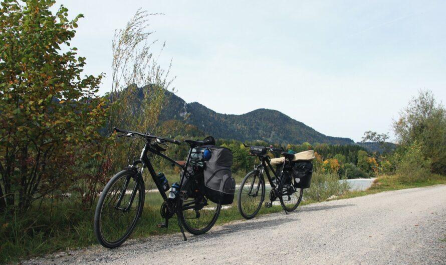 Cykloturistika si žádá patřičné vybavení a doplňky